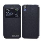 Book Case Ancus S-View for Ulefone Paris/Paris X Black