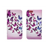 Book Case Ancus Art Collection for Apple iPhone SE/5/5S Butterfly