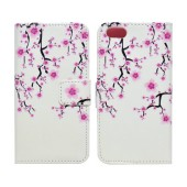 Book Case Ancus Art Collection for Apple iPhone SE/5/5S Almond Tree
