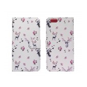 Book Case Ancus Art Collection for Apple iPhone 6/6S Flower