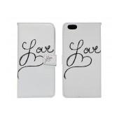 Book Case Ancus Art Collection for Apple iPhone 6 Plus/6S Plus Love