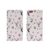 Book Case Ancus Art Collection for Apple iPhone 6 Plus/6S Plus Flower