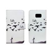 Book Case Ancus Art Collection for Samsung SM-G930 Galaxy S7 Faith