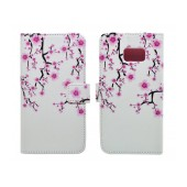 Book Case Ancus Art Collection for Samsung SM-G930 Galaxy S7 Almond Tree