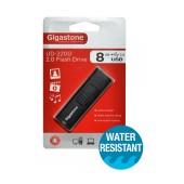 USB 2.0 Gigastone Flash Drive UD-2200 Traveler 8GB Black