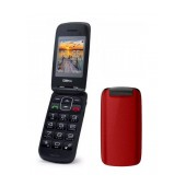 Maxcom MM819BB with Large Buttons, Radio (Works without Handsfre), and Emergency Button Red
