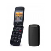 Maxcom MM819BB with Large Buttons, Radio (Works without Handsfre), and Emergency Button Black
