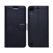 Book Case Ancus Teneo TPU for HTC Desire 530 Black