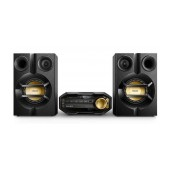 HiFi Micro System Philips  230W FX10/12 Black with MP3 Link,USB Port and Bluetooth