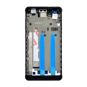 Front Cover Frame Hisense C20 with Side Buttons Black with Tape Original 1017440