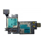 Sim Connector Samsung N7100 Galaxy Note II with Memory Card Reader OEM Type A