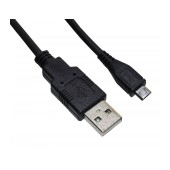Data Cable Ancus USB AM to Micro USB B Black 3m
