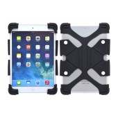 Silicone Case Ancus Universal for Tablet 8,9'' - 12'' Inches Black (24 cm x 17 cm)
