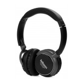 Headphone Stereo Imbson Foldable iM-8001 3.5 mm Black with FM Radio and MP3 Player with Micro SD MC