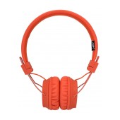 Headphone Stereo NIA Foldable NIA-A1 3.5 mm Orange with Microphone for Mobile Phones, Tablet and Electronic Devices