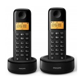 Dect/Gap Philips D1302B Duo Black