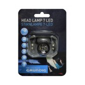 Grundig Headlamp 7 Led Model 38692 Black