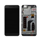 Original LCD with Digitizer for Huawei Nexus 6P Black with Swap Frame