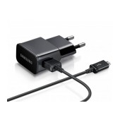 Travel Charger Samsung ETA-U90EΒΕ 10W with Detachable Cable Micro USB ECB-DU4EBE Black 2000 mAh Original Bulk