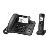 Corded Handset Panasonic KX-TGF310EXM Black + Dect/Gap with Hands-Free Input