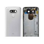 Back Cover LG G5 H850 with On/Off, Side Button, Motor, Camera Lens Silver Original ACQ88954401