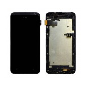 Original LCD with Digitizer for HTC Desire 300 with Frame