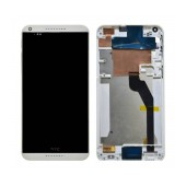 Original LCD with Digitizer for HTC Desire 816 White with Frame