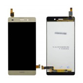 Original LCD with Digitizer for Huawei Ascend P8 Lite Gold without Frame