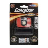 Energizer LED Headlight 1 Led 43 Lumens with Batteries 3 x AAA Black