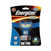 Energizer Vision Headlight 2 Led 80 Lumens with Batteries 3 x AAA Blue