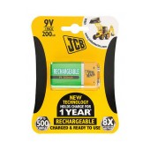 Rechargeable Battery JCB 200 mAh size 9V HR9V Pcs. 1