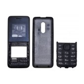 Front Cover Nokia 105 with keyboard Black OEM