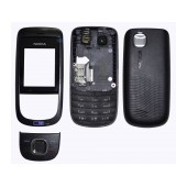 Front Cover Nokia 2220 Slide with keyboard Black OEM