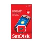 Flash Memory Card SanDisk MicroSDHC 32GB Class 4