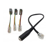 Headset Audio Adapter RJ9 Male to 3.5 Female