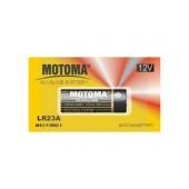 Battery Super Alkaline Motoma size 23A/K23A/LRV08/LI028/E23A/8LR23/MN21 12 V Psc. 1