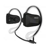 Bluetooth Hands Free Jabees BSport NFC Sweat-Proof IPX4 with Flat Cable Black