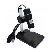 Microscope Mobile with Professional Lens 2 Mefapixels. 8 Led,  with Base and Photo & Video Capture Operation