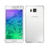 Refurbished Samsung Galaxy Alpha SM-G850A 32GB White without Greek Menu
