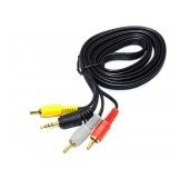 Audio - VIdeo Cable Jasper 3.5mm Jack σε 3 x RCA M/M 1.5m
