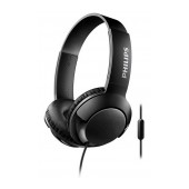 Stereo Headphone Philips BASS+ SHL3075BK/00 for Apple-Samsung-Sony-Huawei-LG with Microphone 3.5 mm Black