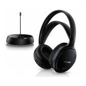 Philips Wireless Stereo Headphones SHC5200/10 Black for TV and HiFi Stereo