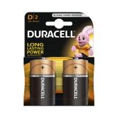 Battery Αlkaline Duracell Long Lasting LR20 / MN1300 size D Pcs. 2