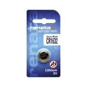 Buttoncell Lithium Electronics Renata CR1632 Pcs. 1