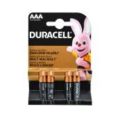 Battery Αlkaline Duracell Long Lasting LR03 / MN2400 size AAA Pcs. 2