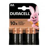 Battery Αlkaline Duracell Long Lasting LR6 / MN1500 size AA Pcs. 2